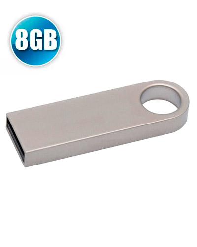 Brindes Personalizados -  Pen Drive Personalizado 8GB Metálico