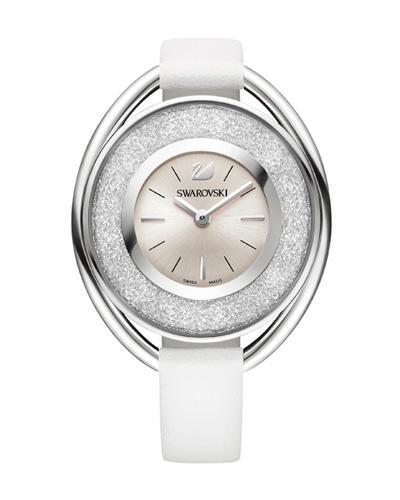 Brindes Personalizados -  Relógio Swarovski Crystalline White