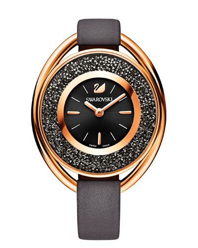 Brindes Personalizados -  Relógio Swarovski Crystalline Black