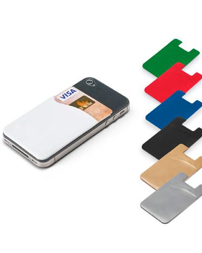 Brindes Personalizados -  Porta Cartões Para Smartphone Personalizado