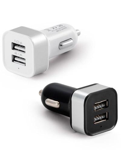 Brindes Personalizados -  Tomada USB para Carros Personalizada
